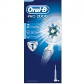 Brushing using the Oral B PRO 2000 cuts the risk of tooth abrasion